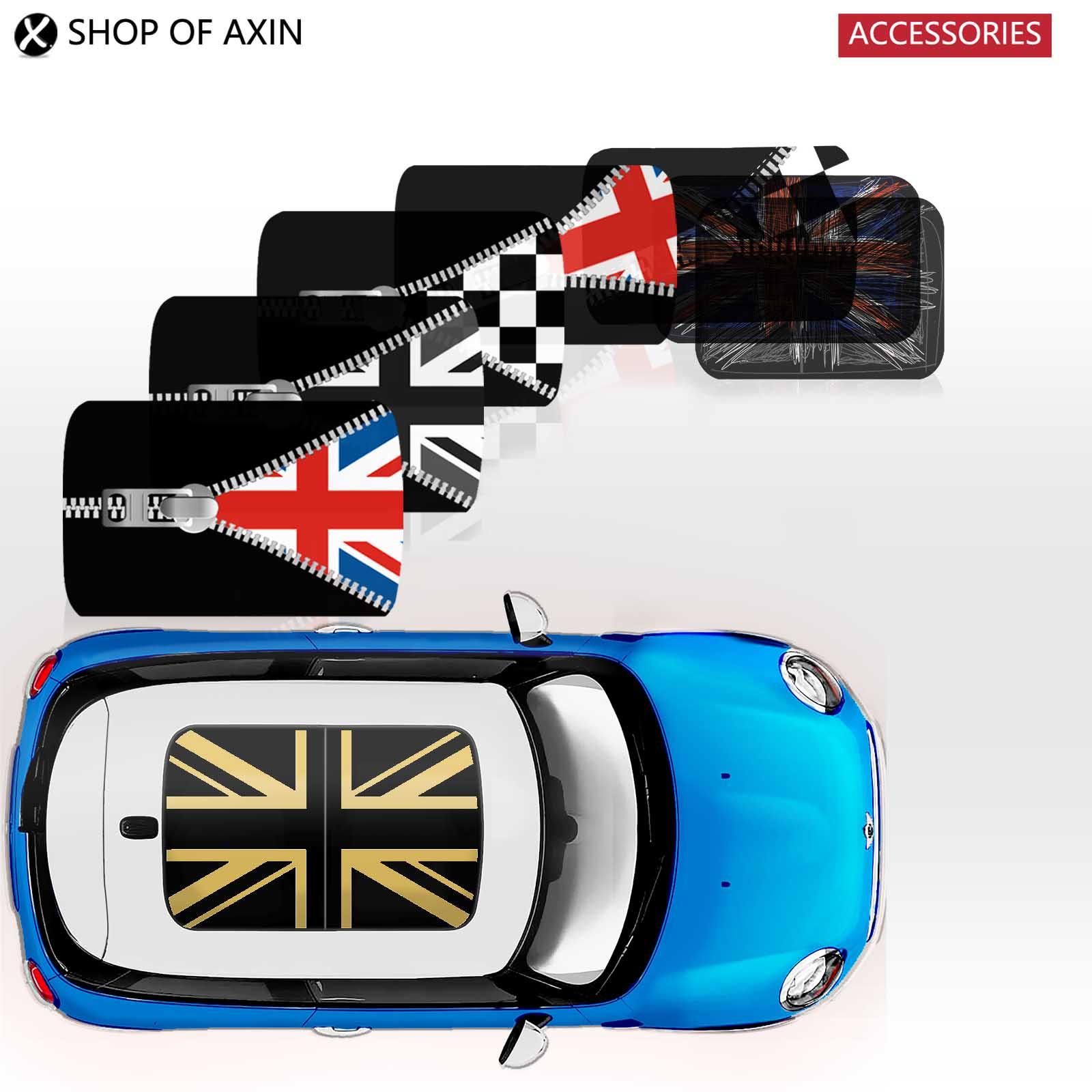 MINI sun roof Graphics stickers Sunroof for MINI Cooper clubman countryman hardtop R50 R53 R55 R56 R60 R61 F54 F55 F56 F60 revell mini cooper