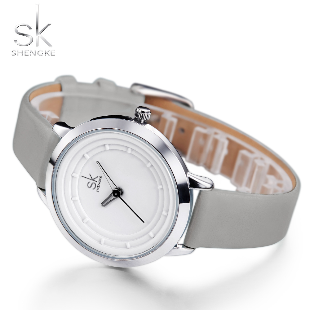 SHENGKE Women Watches Brand Fashion Quartz-watch Women's Wristwatch Clock Relojes Mujer Dress Ladies Watch Business Montre Femme tezer ladies fashion quartz watch women leather casual dress watches rose gold crystal relojes mujer montre femme ab2004