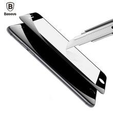Baseus 0.23 ММ Закаленное Стекло Пленка Для iPhone 7 7 Плюс 9 H твердость PET Мягкая 3D Изогнутые Полное Покрытие Анти-Синий Свет-Экран Протектор