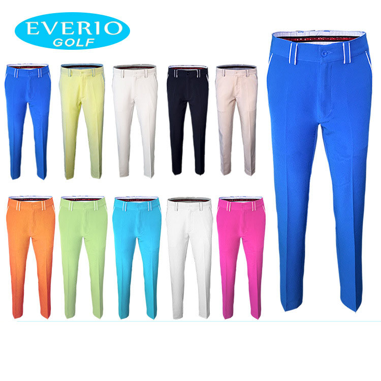 Golf Trousers Men Solid Color Outdoor Sports Pants Male Golf Apparel Quick-drying Breathable Golf Pants Man цена