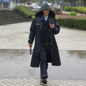 Image 5 - Long Raincoats Men trench coat Poncho Impermeable Rain coat Men Waterproof Rain Coat Poncho Jacket Outdoors Tour Rainwear Adults
