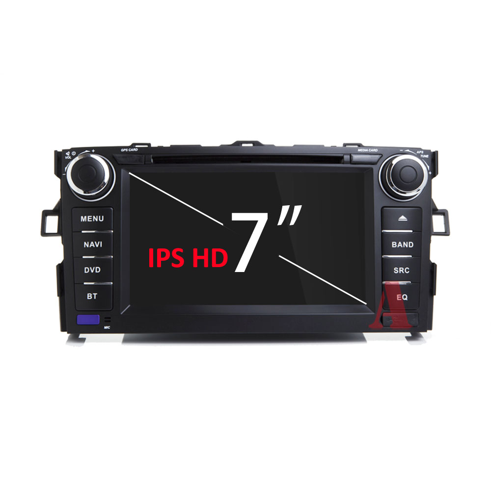 IPS DSP 8 コア 4 グラム 64 グラム 2 ディンアンドロイド 9 車マルチメディア dvd プレーヤー GPS トヨタカローラ 2012 2013 auris アルティス車ラジオ wifi obd2  グループ上の 自動車 &バイク からの 車用マルチメディアプレーヤー の中 2