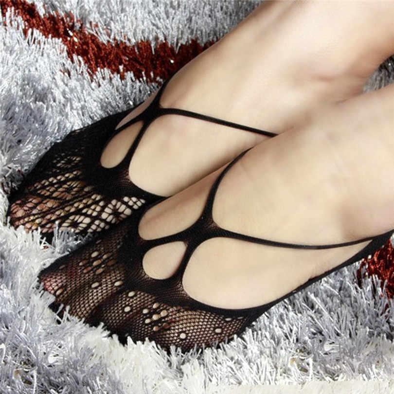 Siyah Içi Boş Görünmez Çorap Kaymaz Yaz Çorap Düz Astar Popsocket Çorap Terlik Nefes Calcetines De Verano 30APR30