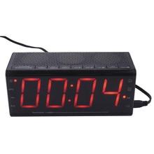 Leadstar Wirelss Alarm Clock Bluetooth Speakers Hands-free Calls LCD Screen FM Radio Amplifier Support TF Card MX-20