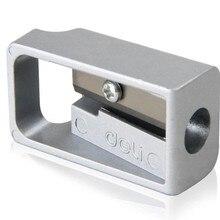 1 шт. 0596 цинковый сплав точилка для карандашей строгальный карандаш точилка