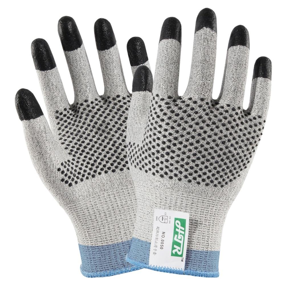 Gants de travail Anti-coupure 24 paires gants de boucher résistants aux coupures gant de sécurité Anti-coupure HPPE