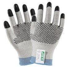 Cut Resistant Work Gloves Steel Aramid Fiber HPPE Anti Working