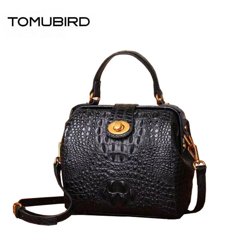 New women genuine Leather bags superior cowhide fashion women leather bags Crocodile pattern bags handbags women famous brands fashion style women crocodile pattern doctor women backpack famous bags women s pu leather rucksack bag z762