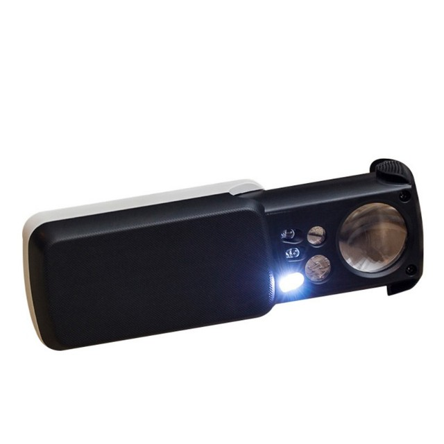 Optical Lens Loupe High Magnification with Light
