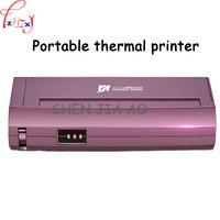 Мини Портативный A4 бумага термопринтер дома, офиса, автомобиля мобильного портативный черный и белый термопринтер 220 В 1 шт.