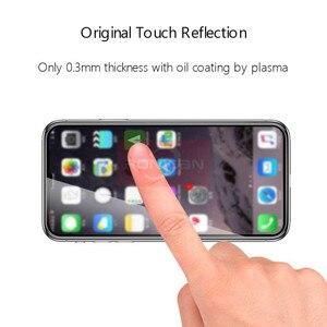 Image 2 - غطاء كامل من الزجاج المقسى على آيفون XR 11 برو ماكس حامي الشاشة آيفون X XR ثلاثية الأبعاد حافة منحنية واقية شاشة زجاجية فيلم