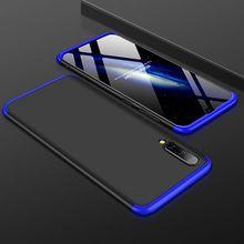 A50 Coque pour Coque Samsung Galaxy A50 Coque 360 Protection complète antichoc Coque arrière dessus pour etui Samsung A50 Coque de téléphone Funda