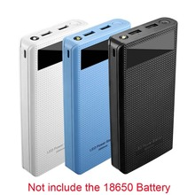 USB הכפול 7x18650 סוללה DIY כוח בנק תיבת מחזיק לטלפון נייד Tablet PC