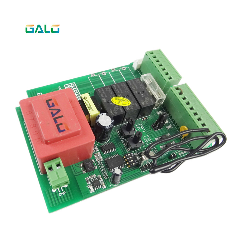 Sliding gate opener motor control unit PCB controller circuit board electronic card for KMP series