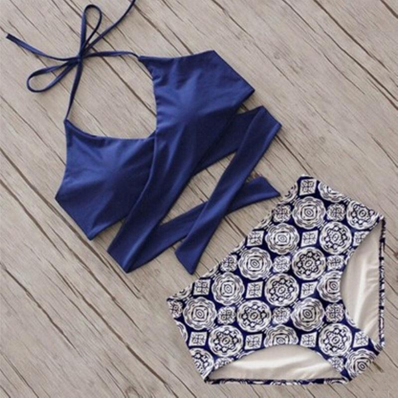 2017 Estate Sexy Bikini donna Set Beachwear Push-up imbottito - Abbigliamento sportivo e accessori