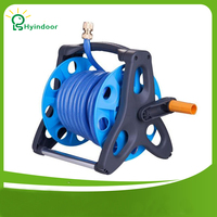 Hyindoor Jardin Magic Empty Hose Reels Garden Hose Cart Water Pipe Storage Holder Save Space Garden Hose Storage Reels Car
