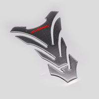 Motorcycle CBR Logo Carbon Look Gas Oil Fuel Tank Pad Protector Sticker Cover Decal For Honda