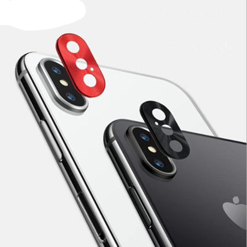 For Apple iPhone Xs Max X XR Camera Lens Protector metal lens Back Lens Film Protection Ring Mobile Phone Accessories
