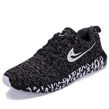 Zapatos corrientes de los nuevos zapatos deportivos de malla de peso ligero y Trendly zapatillas de deporte para correr para mujer y hombre Otoño plana tendencia a caminar zapatos