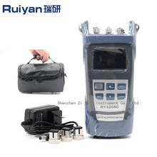 Óptica Handheld del Multímetro medidor de potencia óptica/+ Fuente de Luz + fuente de láser (10 mW localizador visual de fallos) Equipos de fibra Óptica