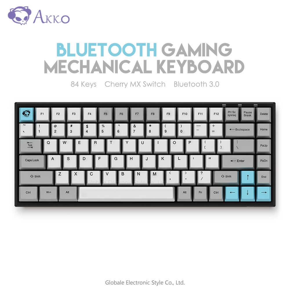 Ban Đầu Akko 3084 Yên Lặng Bàn Phím Cơ Không Dây Bluetooth Máy Tính Game  Thủ 84 Phím Keyboards