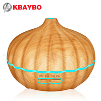 550ml Ultrasonic Aromatherapy Diffuser Wood Grain Ultrasonic Humidifier For Office Home Bedroom Living Room