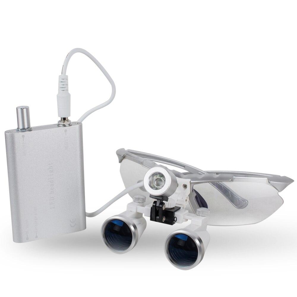 Lente d'ingrandimento chirurgica dentale da 3,5x420 mm, lente - Strumenti di misura - Fotografia 3