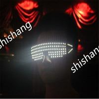 YJ603 LED Glasses for Festival Party Christmas Day/DJ Club disco/Ballroom Dancing Glowing luminous Glasses/ dance light glasses