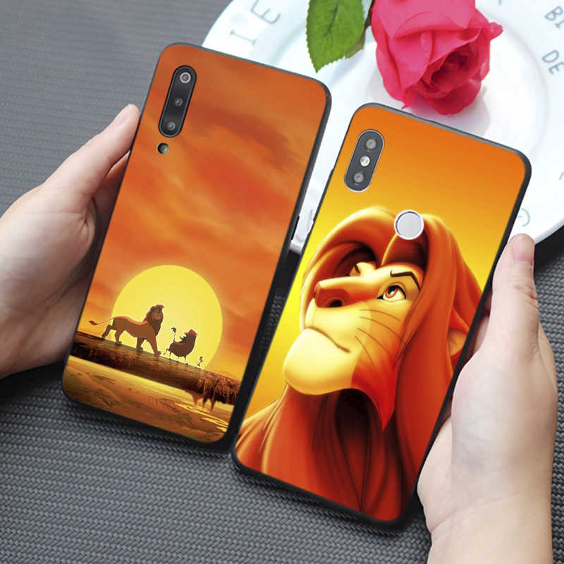 The Lion King Simba Hakuna Matata Cartoon Soft Silicone Phone Case for samsung galaxy a50  a70 a30 a40 a20 s8  s9 s10 plus