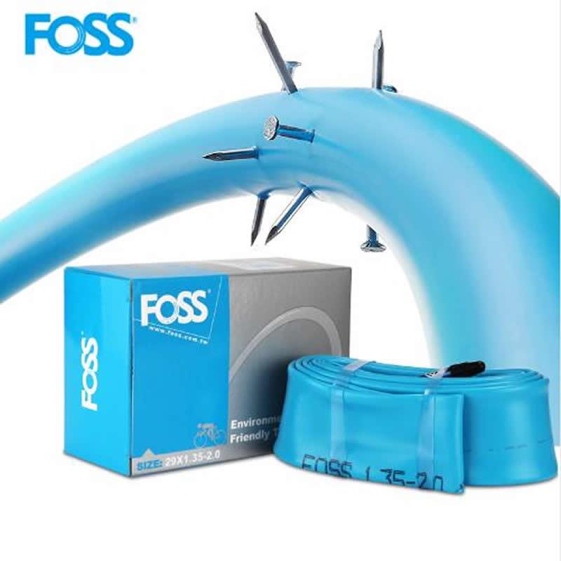 FOSS vélo Tube pneu Schrader/Presta 16/20/24/26/27.5/27/700C route vtt vélo chambre à air en caoutchouc pneu vélo crevaison pneu