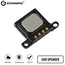 Fone de ouvido flexível para iphone, 1 peça, original, 5, 5S, 6, 6s, 7, 8, plus, receptor de som, estêncil peças de reparo para substituição