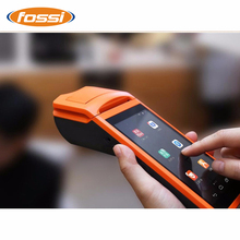 5.5″ Display Wifi /3G/Bluetooth Handheld Mini Android Pos Terminal with Thermal Printer Barcode Scanner