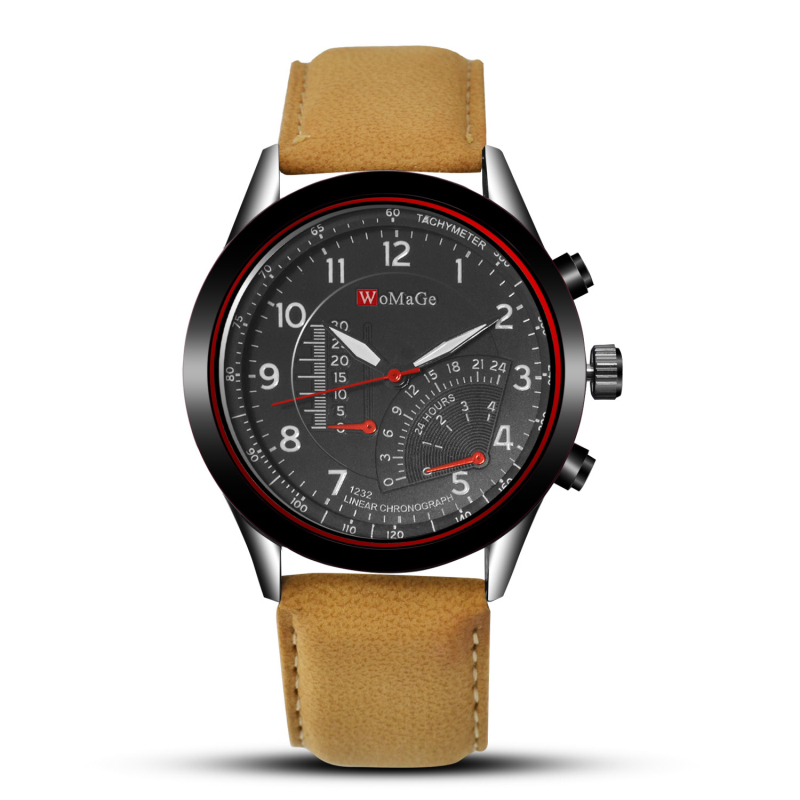 Top Brand Watch Men Watch Fashion Sport Watches Leather Strap Military Watch Hour Quartz Clock Relogio Masculino Reloj Hombre redear top brand wood watch men women wooden watches japan miyota fashion watch leather clock relogio feminino relogio masculino