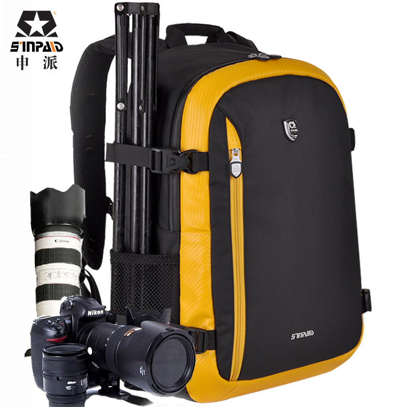 Large Capacity Waterproof Photography Camera/video Bag DSLR Camera Backpack Photo Tripod Bag Lens Pouch for Canon Nikon D90 Slr