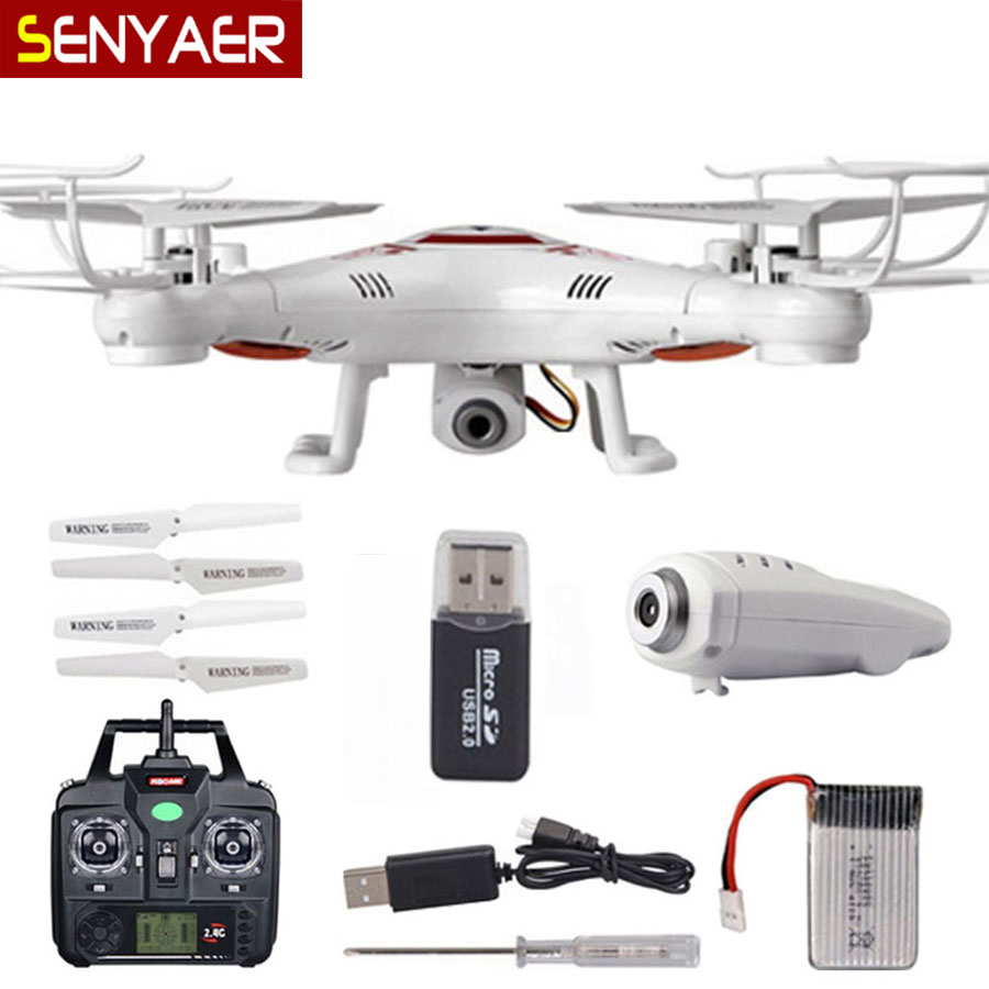 Cheapest With HD Camera font b Drone b font BAYANG X5C Upgraded version X5C 1 RC