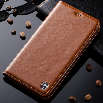 For Nokia 5 6 7 8 9 X6 X7 X71 C2 C3 Plus 2018 Sirocco Pureview Case Genuine Leather Stand Flip Magnetic Mobile Phone Cover