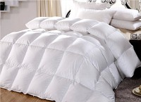FACTORY PRICE SPRING DOWN Comforter KING/QUEEN/TWIN Size 100% Cotton Cover,600 Fill Power,17 Oz Fill Weight, White Color Whosale