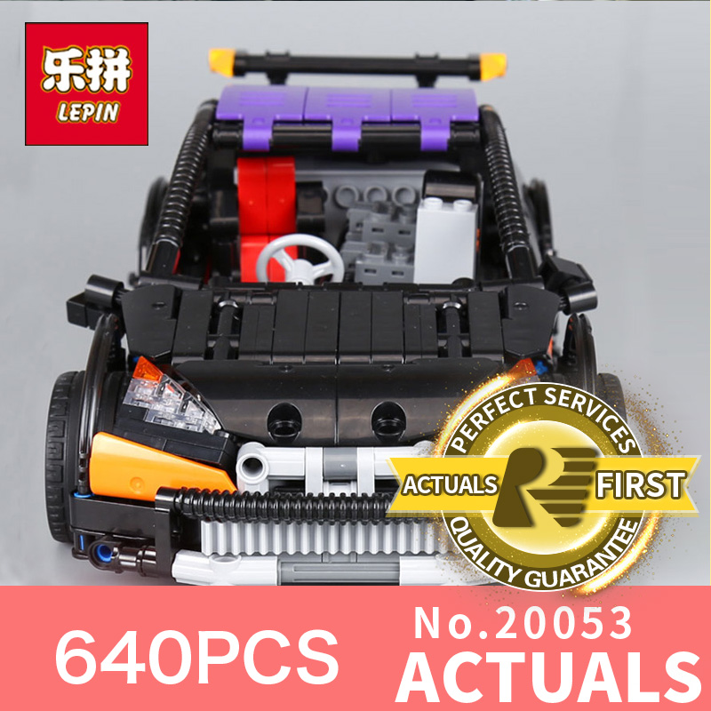 640Pcs Lepin 20053  Genuine New Technic Series The Hatchback Type R Set MOC-6604 Building Blocks Bricks Educational Toys Mode the suits antwerp повседневные брюки