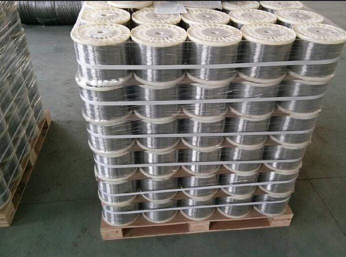 SS316 SS321 SS304 Stainless Steel Spring Wire Rope Bright Surface Size 0.2mm 1kg