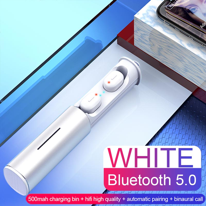 Mini Sport Bluetooth Earphone True TWS Earbuds Wireless Bluetooth 5.0 Headphones Headset With Charging Box For Android IOS Phone (2)
