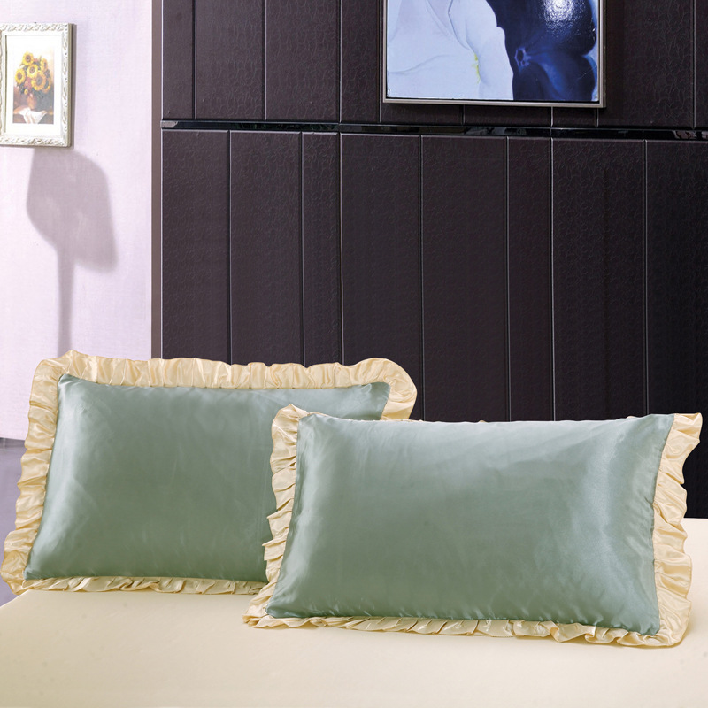 khaki beauty pillowcase skin hair cover silk naturelife pillow sateen item and pillowcases soft satin cases set luxury