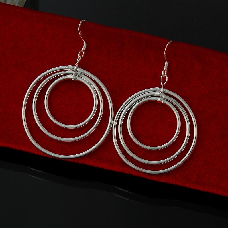 Wholesale  fashion jewelry ,925 Silver earrings  . Nice Jewelry. good quality   FE0072