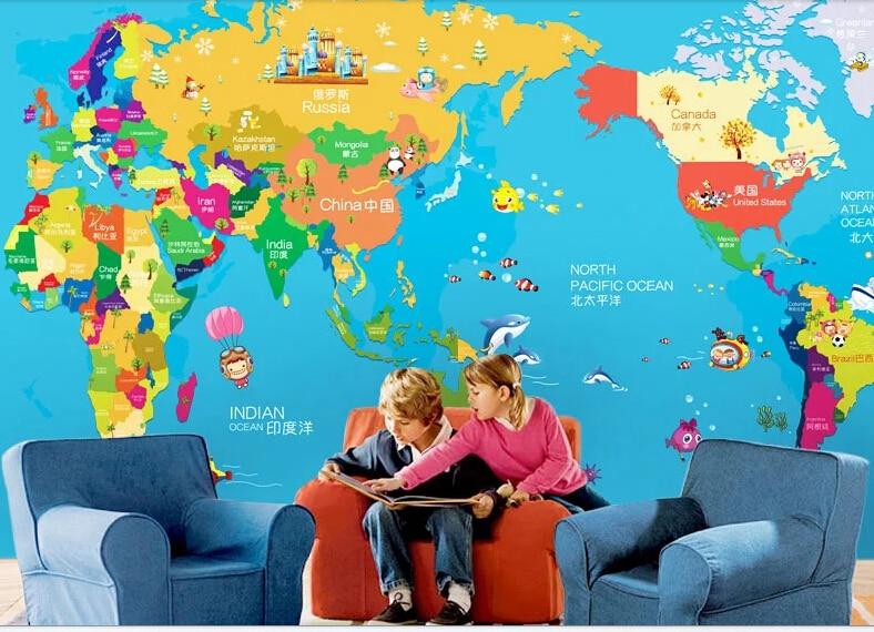 2015 large wall murals of childrens rooms cartoon corridor 2015 large wall murals of childrens rooms cartoon corridor personality wallpaper wallpaper kindergarten education world map em papis de parede de gumiabroncs Image collections