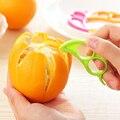 Kreative Orange Schäler Maus Stil Nette Orange Barker Multicolor Orange Schälen Gerät Einfach Verwenden Obst Stripper Praktische Küche