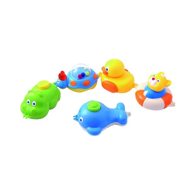 Игрушки Canpol для ванны, 5 фигурок, 6+