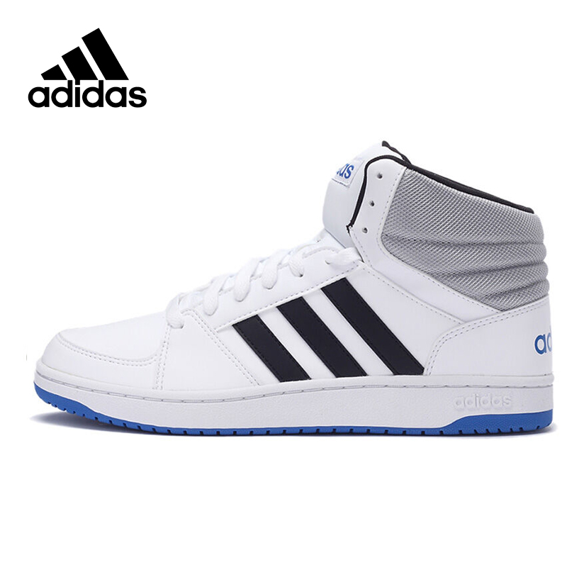Original New Arrival Official Adidas NEO Men's High Top Skateboarding Shoes Sneakers