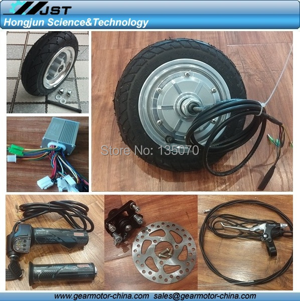 High quality 8 hub motor electric scooter conversion kits for Scooter hub motor kit
