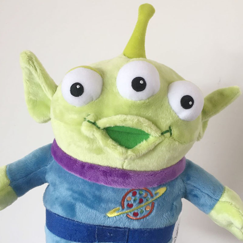 30CM Toy Story Alien Plush Toys Alien Toy Story Figure Doll, Soft Stuffed Animal Toy toy story bunny toys