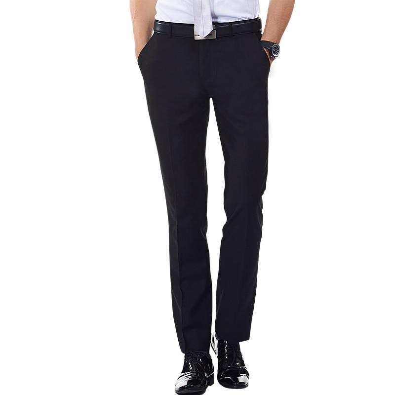 Pantalones De Vestir Para Hombre Pantalon Largo Plano De Negocios Formal Para Primavera 2021 Dress Packaging Dress Pants Brandspants Women Aliexpress