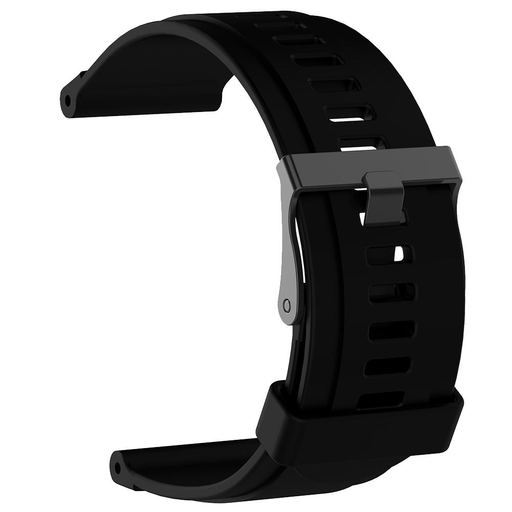 Replacement Silicone Band Strap Wristband for Suunto Traverse Sport Smart Watch dropshipping Vertical Watch Band Wrist Bracelet
